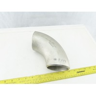 "Enlin A/SA403 WP-W M9JQ 3"" Butt Weld Stainless Steel 90° Elbow"