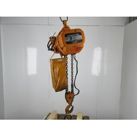 Harrington ES3B-5641 3 Ton 460V 17/5.5 FPM Two Speed Chain Hoist