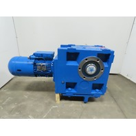 Lenze CKS11-3F HAR Helical-Bevel Gearmotor Speed Reducer 6.8RPM 277/480V 4.8kW