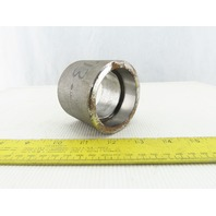 "SA105N 2743 B163M 2-1/2"" Socket Weld Pipe Coupling"