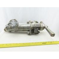 "Hancock 7190W 2"" Socket Weld Forged Steel Globe Valve 90° 3600 WOG"