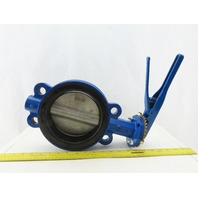"ABZ Valve And Control 6"" 200 Psi Wafer Butterfly Valve Ductile Iron"