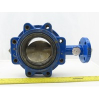 """Grinnell LC-8271-3 4"""" Lug Mount Wafer Butterfly Valve 250PSI"""