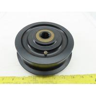 "2353T31 Single Flange track Wheel 6-1/4"" x 1-11/16"" 1"" Axle"