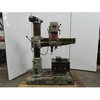 """Starrett L3 3' x 8"""" Radial Arm Drill Press 230/460V 3Ph #3MT"""