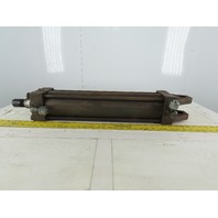 """Hydraulic Cylinder 4"""" Bore 18"""" Stroke Double Acting Clevis End"""