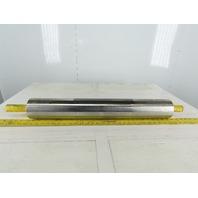 "Dematic K040738WFA 4"" OD 27""BF 27"" Flat Face Conveyor Drive Belt Pulley Roller"