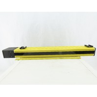 Sick AGSS 750-1111 24VDC 110/220VAC 738mm x 6m Safety Light Curtain