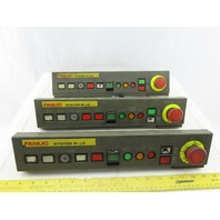Fanuc A05B-2400-C001 Operator Panel Lot of 3