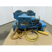 Shaw Box 8DL05020S08 3-1/2 Ton Wire Rope Electric Hoist 21' Lift 9FPM 460V 3Ph