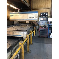 NTC NIPPEI TOYAMA TLV-510 Laser Cutting Machine Fanuc 16i-L Controls