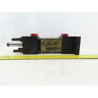 """Hydro-Line Double Ended Hydraulic Cylinder 1-1/2"""" Bore X 2"""" Stroke"""
