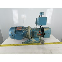 Delco R4424D2 7.5Hp 1750RPM 230/460V Motor With Hydraulic Pump