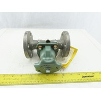"ITT Grinnell 3/4"" Flanged Stainless Steel Diaphragm Valve"