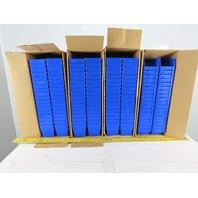 "Quantum QSB101BL Nesting Shelf Bin Blue 4""H x 11-5/8""L x 4-1/8""W Lot of 144"