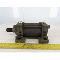 """Hydraulic Tie Rod Cylinder 4"""" Bore 4"""" Stroke Double Acting"""