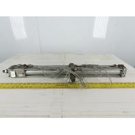 SMC Pneumatic Air Cylinder 50mm Bore 885mm Stroke W/CLA2-50-2 Rod Lock