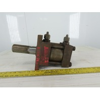 """Hydro-Line Hydraulic Tie Rod Cylinder 4"""" Bore 1"""" Stroke Double Acting"""