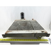 "109.003.0000 19-3/8"" x 18-3/4"" Air Compressor Heat Exchanger From Kaeser Sigma"