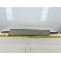 """3.925x25"""" Conveyor Drive Roller W/Tapered Bushed Bore 1-3/16"""" Shaft"""