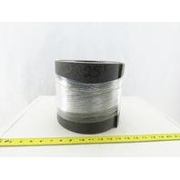 """8"""" PVC Interwoven Felt Texture Conveyor Belt 25'"""