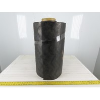 "2 Ply Molded Rubber Chevron Incline Conveyor Belt 24""W x 21'L x 0.280""T"
