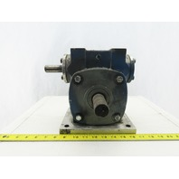 "Euclid Universal Gear Box Speed Reducer 50:1 Ratio 1-1/4"" Out 7/8"" Input Shaft"