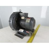 All Star RB6-305-3 3.5Hp 208-230/460V 3Ph Regenerative Vacuum Pump Blower