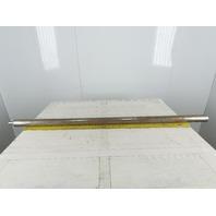 """2-1/8"""" OD 56-7/8"""" BF 57-7/8"""" OAL Conveyor Belt Snubber Roller"""