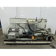 50Hp 165Gal Hydraulic Power Unit W/PVWH 60 RDFYCTNNTKCPP170 Oilgear Pump