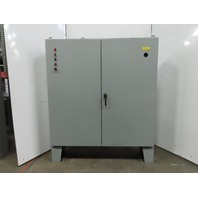 """ElectroMate Free Standing Double Door Electrical Enclosure 72x72x12"""" W/Backplate"""