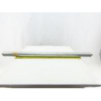 "Dematic S345132862 1.9"" OD 32-1/2"" BF 34"" OAL Gravity Conveyor Roller"