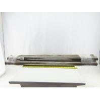 """Dematic 2-3/16"""" OD 41-3/8"""" BF 42"""" OAL Conveyor Belt Snubber Roller Lot Of 4"""