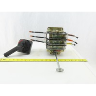 Sprecher+ Schuh L10NJ1003P 100A 600v 3P Fusible Disconnect Switch W/Operator