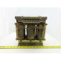 Siemens 6SN1111-0AA00-0BB1 21KVA Transformer 440/480V Primary 400V Secondary