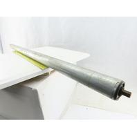 "Dematic 1.9"" OD 44"" BF 45-1/4"" OAL Gravity Conveyor Roller"
