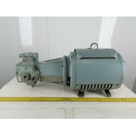 Rexroth 1PV2V4-18/50R Hydraulic Pump Assembly W/Lincoln 25Hp Motor 230/460V 3Ph