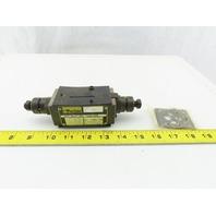 Parker FM2DDSN Hydraulic Flow Control D03 Sandwich Module