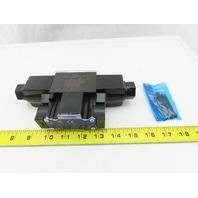 Yuken DSG-01-2D2-A120 4/2 Position Double Solenoid Operated Valve 120V Coil