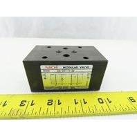 Nachi OC-G01-T1-20 Hydraulic Sandwich Modular Check Valve
