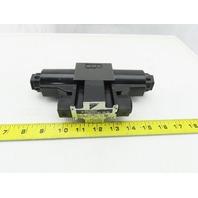 Daikin KS0-G02-2DP-30-EN 4/3 Way Solenoid Op. Hydraulic Directional Valve 24VDC