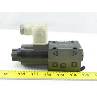 Nachi SA-G01-A13-GR-D2-8331J Solenoid Operated Directional Control Valve 24VDC