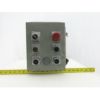 """Hoffman 8"""" x 10"""" x 4"""" Electrical Enclosure With Switches"""