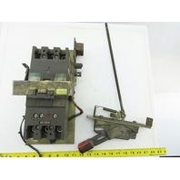 General Electric TCAL24 TFK236F000 175A Circuit Breaker 600V 3P W/Operator