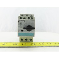 Siemens 3RV1021-4DA10 25A 690V 3P Manual Motor Starter Circuit Breaker