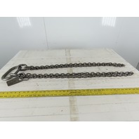 "ACCO 91T4934 Double Basket Continuous Chain Sling 1/4"" X 3'6"" 9100Lb at 60°"