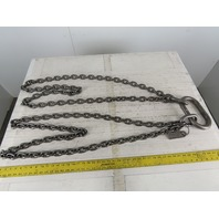 """ACCO 98T322 Double Basket Continuous Chain Sling 3/8"""" X 5'7"""" 18400Lb at 60°"""