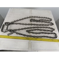 "ACCO 90T4693 Double Basket Continuous Chain Sling 3/8"" X 6'1"" 18500Lb at 60°"