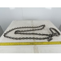 "ACCO 78C1113 Single Basket Continuous Chain Sling 3/8"" X 6'3"" 11400Lb at 90°"