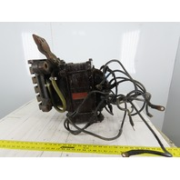 Taylor Winfield Pri 220V 60Hz 30kVa 4.58/2.82 Hi/Low Friction Welder Transformer